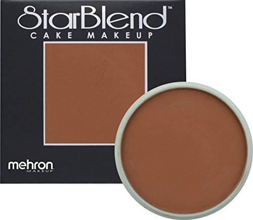 Mehron Makeup StarBlend Cake Makeup DARK EGYPTIAN – 2oz
