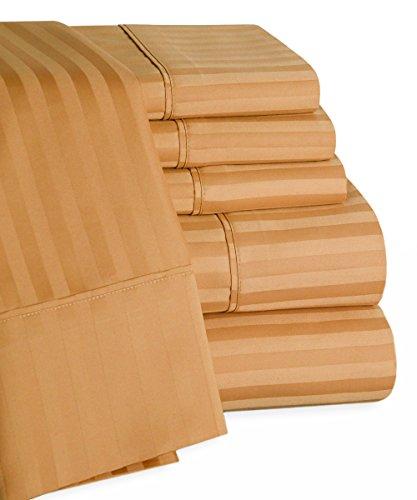 Trade Linker 450 Thread Count 100-Percent Egyptian Cotton Sateen Sheet Set, Queen, - Set 450 Thread