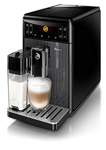 Philips Saeco GranBaristo Super-Automatic One-Touch Espresso Machine – Black – HD8964/47