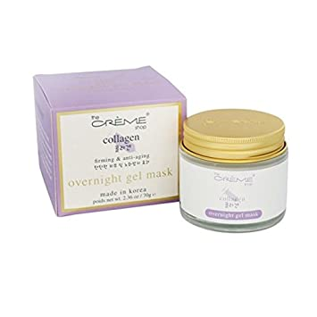 Rose Oil Overnight Gel Face Mask - 2.36 oz. by The Creme Shop (pack of 4) Andalou Naturals Chia Plus Omega Radiant Skin Polish - 2 Oz, 6 Pack