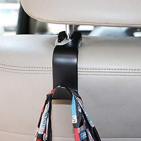 Tradtrust Car Back Seat Headrest Hanger Storage Hooks Organizer Holder Hooks for Car SUV