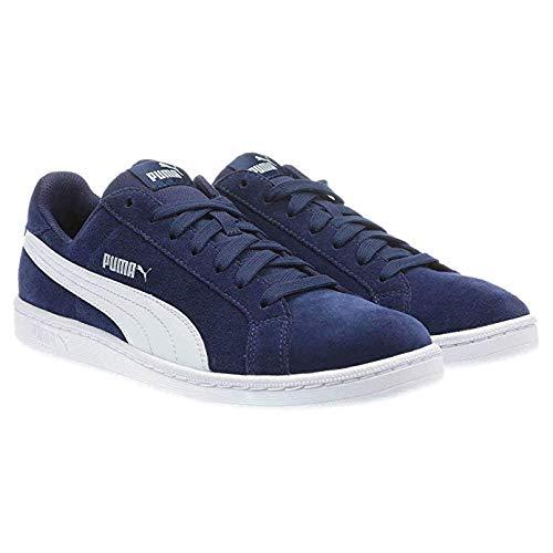 PUMA Men's Smash v2 Sneaker (Navy, 9.5 M US)