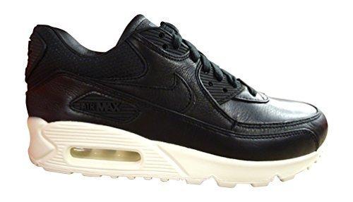 Nike Air Max 90 Pinnacle Women's Running Fashion Shoes (7 B(M), Black Black Sail 002)