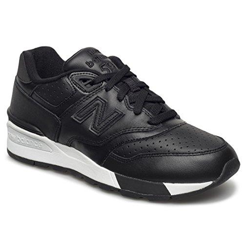 New Balance 597, Zapatillas de Running para Hombre, Negro Negro (Black)