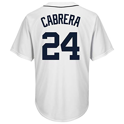 Cabrera Jersey - DukeLy Men's/Women's/Youth_Miguel_Cabrera_White_Home_Cool_Base_Player_Jersey