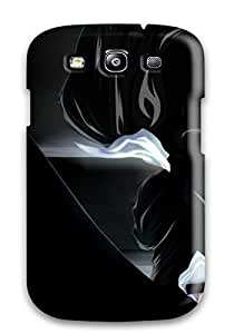 Galaxy S3 Bleach Print High Quality Tpu Gel Frame Case Cover