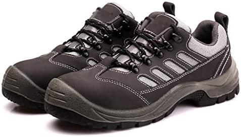 安全靴・作業靴 メンズハイキングシューズ防水通気性ハイキングシューズスポーツシューズ滑り止め軽量スポーツシューズアウトドアクライミングロッククライミングスニーカー (サイズ さいず : 38)