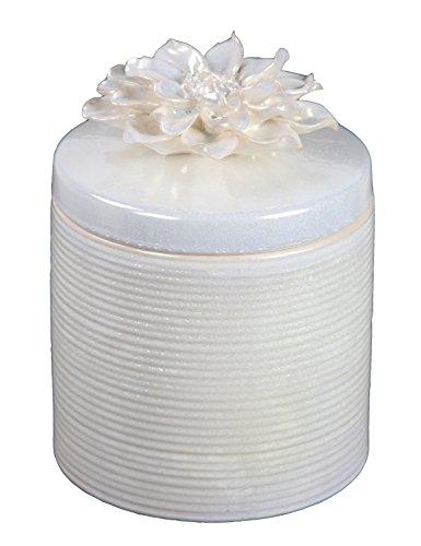 UPC 805572860898, Privilege 86089 Ceramic Jar with Flower Lid, Large