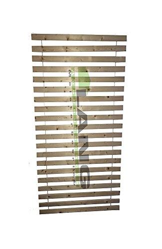2er-Set Exklusiv Rollrost Lattenrost Extra Stark m. 20 stabilen Lamellen 6 cm breit 2 cm dick 90x200cm
