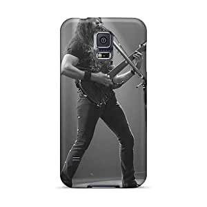 Scratch Protection Cell-phone Hard Cover For Samsung Galaxy S5 With Support Your Personal Customized High-definition Megadeth Band Skin CristinaKlengenberg
