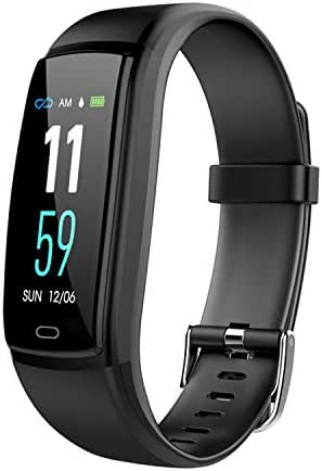 Cofityeah Fitness Tracker Smart Bracelet Activity Tracker Sports Band Bluetooth Wristband Exercise Watch with Waterproof Heart Rate Sleep Monitor Pedometer Calorie Step Counter