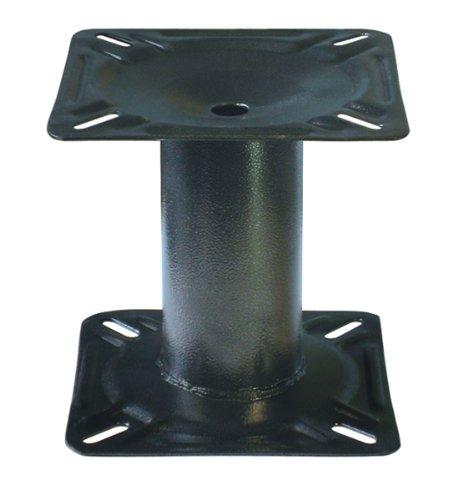 Marine Swivel Mount (Wise Boat Seat Pedestal, Black,)