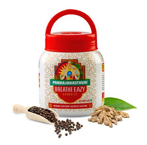 Pankajakasthuri Ayurvedic Breathe Eazy GRANULES 400 gm - Free Shipping (1 x 400 gm)