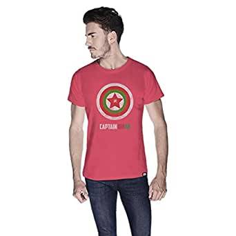 Creo Captain Oman T-Shirt For Men - L, Pink