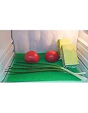 dfgh Koelkastmat, gekleurd, anti-schimmel spons, filter, schuimrubber, koelmat, antibacterieel, anti-schimmel pad