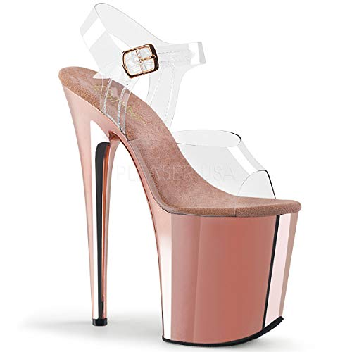 Pleaser Women's Flamingo-808 Ankle-Strap Sandal ()