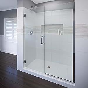 Basco Celesta 57 Quot 58 Quot Glass Shower Door And Panel 3 8