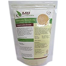 MB Herbals 100% Pure Fuller's Earth Powder 227g / 8 oz - Multani Mitti Facial Clay Bentonite Indian Healing Clay - No Preservatives No - Bleaching Agents - No added Fragrance - Fullers Earth
