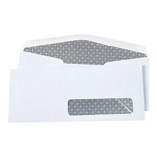 Staples 572043 Commercial Flap Security Tint #10 Envelopes 4 1/8-Inch X 9 1/2-Inch We 500/Bx