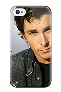 Elliot D. Stewart's Shop Best Iphone 4/4s Hard Back With Bumper Silicone Gel Tpu Case Cover Christian Bale 2657965K35049848