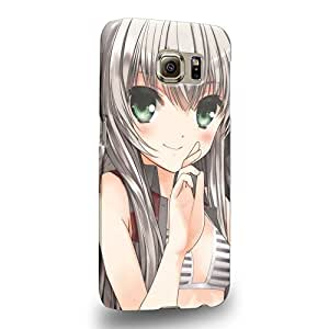 Case88 Premium Designs Nyaruko: Crawling with Love Nyarlathotep Nyaruko 1686 Protective Snap-on Hard Back Case Cover for Samsung Galaxy S6 (Not S6 Edge !)
