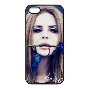 Customize Your Case For Ipod Touch 4 Cover Back Case Lana Del Rey Singer JN5S-1974