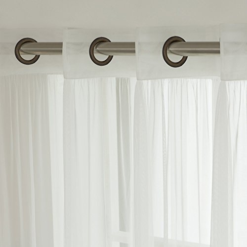 Best Home Fashion Tulle Sheer Lace Curtains – Antique ...