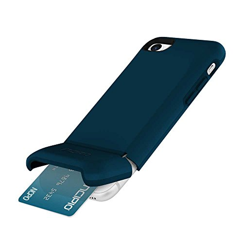 Incipio Stashback iPhone 8 & iPhone 7 Case with Credit Card Slot Holder and Foldable Back Panel for iPhone 8 & iPhone 7 - Navy from Incipio