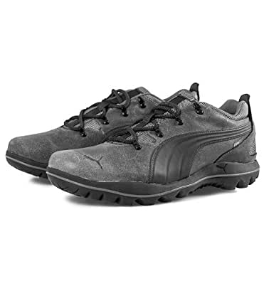 Puma Silicis Leather Storm Cell Trekking Hiking Worldwide Boots - Charcoal (11)