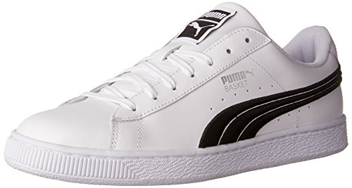 Puma Suede Classic Badge Synthetik Turnschuhe Puma White-puma Blac