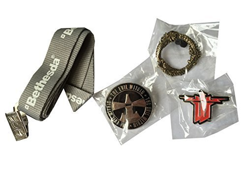 The Evil Within, Elder scrolls, Wolfstein, pins collectible Bethesda