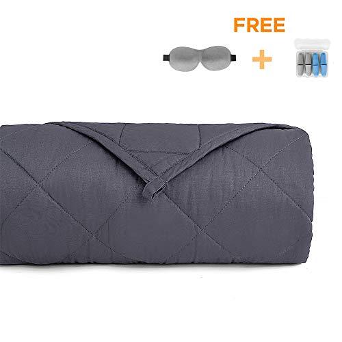 Cheap Zankaso Weighted Blanket 15lbs - 48