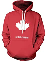Canada Eh Team Sweatshirt Funny A-Team TV Parody Hoodie L