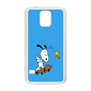 [QiongMai Phone Case] For Samsung Galaxy S5 -Funny Snoopy-Case 7
