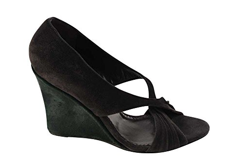 MUSSO Shoes Dark Green Leather 5 36 Brown ROBERTO Women's Pumps 1qpxgad