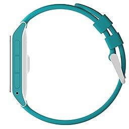 Pebble 2 + Heart Rate Smart Watch- Aqua/White