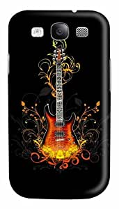 3D Guitar Custom Polycarbonate Hard Case Cover for Samsung Galaxy S3 SIII I9300