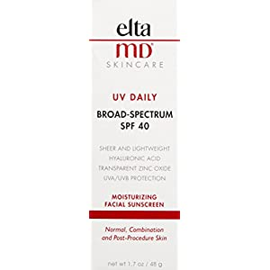 EltaMD UV Daily Broad-Spectrum SPF 40 Moisturizing Facial Sunscreen, 1.7 oz