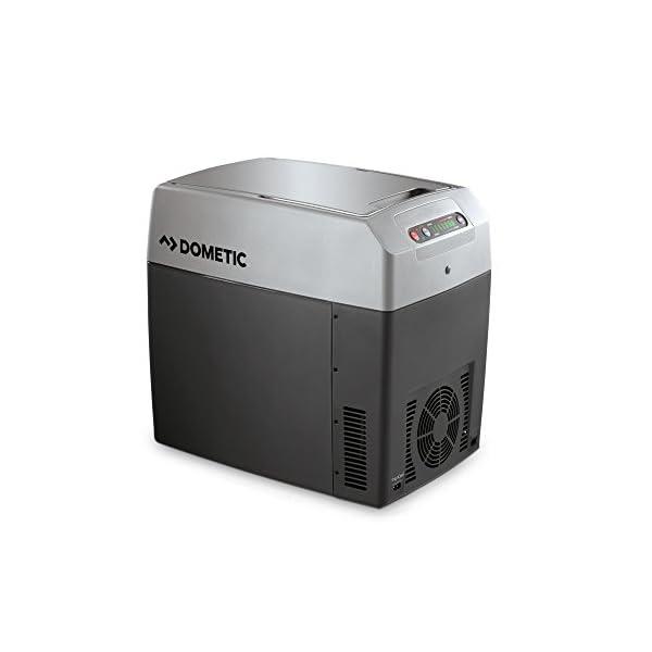 41lyHPqVAmL DOMETIC TropiCool TC 21FL - tragbare elektrische Kühlbox, 20 Liter, 12/24 V DC/ 220 - 240 Volt AC für Auto, Lkw, Boot…