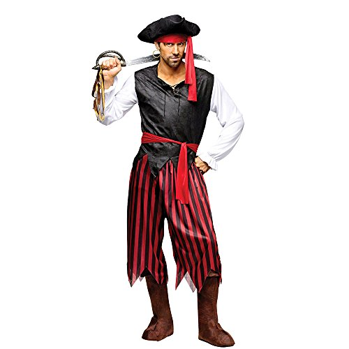 Pirate Costumes Marauder (Caribbean Pirate - Adult Standard)