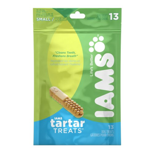 Iams Tartar Treats for Small Dogs, 13-Count Pouches (Pack of 2), My Pet Supplies