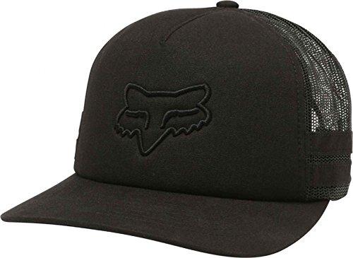 Fox Junior's Head TRIK Trucker HAT, Black, OS