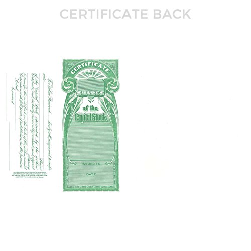 Goes Litho Goes 199 Kansas Stock Certificate - Pack of 20