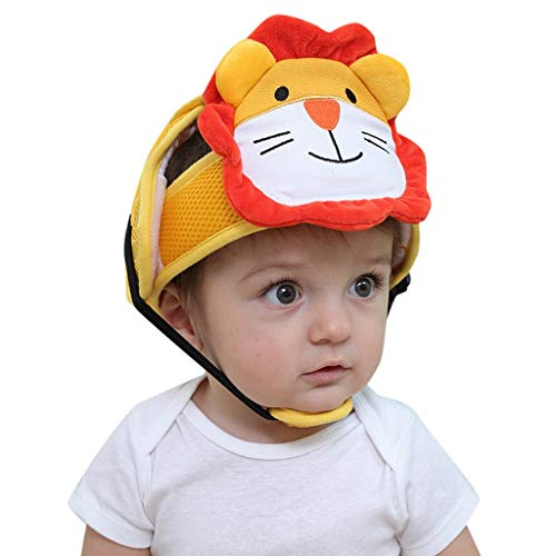 MOGOV Baby Infant Super Cute Soft Head Protection Soft Hat Helmet Anti-Collision Security Safety Sport Hat - Pin Pittsburgh Helmet Steelers