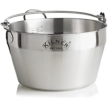 Amazon Com Kilner Stainless Steel Jam Pan Jam Pot