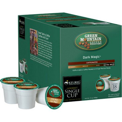 Green Mountain Coffee, Dark Magic (Extra Bold), 120-Count K-Cups for Keurig Brewers by Green Mountain Coffee