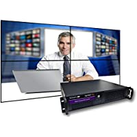 Smartavi AP-SVWP-120G5S SIGNWALL-PRO DIGITAL SIGNAGE / VIDEO WALL PLAYER WITH CAPTURE CARD 120GB DISK, 4
