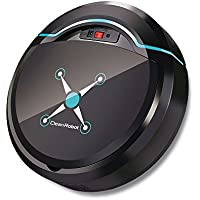 YOUDirect Automatic Intelligent Robot Vacuum Cleaner with One-Key Planning Tech - Auto Sweeping Machine Home Cleaning Tool, Smart Clean Robot for Multi Floor Typies Pet Hair (Black)
