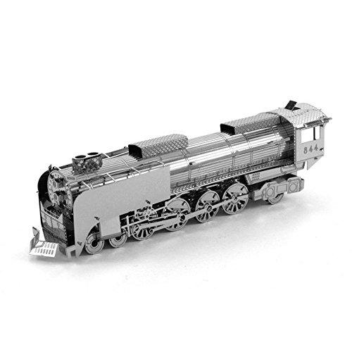 3d Metallic Nano Puzzle Toy - Steam Locomotive Models Models Hot