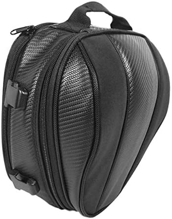 Moligh doll Motorcycle Tail Bag Waterproof Seat Bag Motorbike Saddle Bags Multifunctional Motorcycle Bag